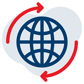 Point2Point Global - Web Icon, Global Returns