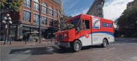 Canada Post Truck Vancouver